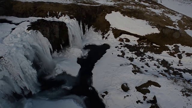 Photodrones Iceland BBC  aerial footage from Multicopter aircrafts